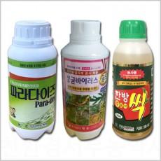 [ 굳바이러스 한방싹충도사 파라다이즈] 유기농업자재 제품별도구매