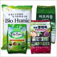 [ 바이오휴믹외 3종 ] 토양병해충 및 토양개량 제품별도구매